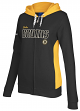 Boston Bruins Women's Reebok NHL Core Full Zip Hooded Sweatshirt