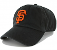 San Francisco Giants 47 Brand Clean Up Adjustable Hat - Black