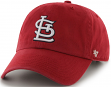 St. Louis Cardinals 47 Brand Clean Up Adjustable Hat - Red