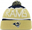 St. Louis Rams 47 Brand NFL Calgary Cuffed Knit Hat