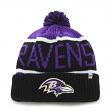 Baltimore Ravens 47 Brand NFL Calgary Cuffed Knit Hat