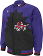 Toronto Raptors Mitchell & Ness Authentic 95-96 Warmup Premium Jacket - Purple