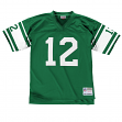 Joe Namath New York Jets NFL Mitchell & Ness Throwback Premier Green Jersey