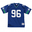 Cortez Kennedy Seattle Seahawks Mitchell & Ness Throwback Premier Blue Jersey