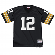 Terry Bradshaw Pittsburgh Steelers NFL Mitchell & Ness Premier Black Jersey