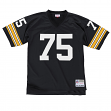 Joe Greene Pittsburgh Steelers NFL Mitchell & Ness Premier Black Jersey