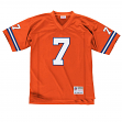John Elway Denver Broncos NFL Mitchell & Ness Throwback Premier Orange Jersey