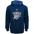 Oklahoma City Thunder Youth Adidas NBA 2013 Pullover Hooded Sweatshirt - Blue