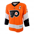Claude Giroux Youth Philadelphia Flyers NHL Reebok Orange Replica Jersey