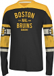 Boston Bruins CCM Reebok NHL Lightweight Long Sleeve Crew Shirt
