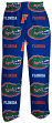 "Florida Gators NCAA ""Highlight"" Men's Micro Fleece Pajama Pants"