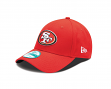 San Francisco 49ers New Era 9Forty NFL The League Adjustable Hat - Red