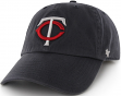 Minnesota Twins 47 Brand MLB Clean Up Adjustable Hat - Navy