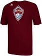Colorado Rapids Adidas MLS Primary Logo T-Shirt - Maroon