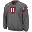 Harvard Crimson NCAA 2014 Pitch Pullover Jacket - Charcoal