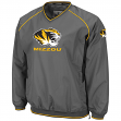 Missouri Tigers NCAA 2014 Pitch Pullover Jacket - Charcoal