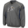 Navy Midshipmen NCAA 2014 Pitch Pullover Jacket - Charcoal