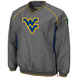 West Virginia Mountaineers NCAA 2014 Pitch Pullover Jacket - Charcoal