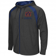Auburn Tigers NCAA Lift Full Zip Hooded Sweatshirt - Charcoal