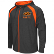 Oklahoma State Cowboys NCAA Lift Full Zip Hooded Sweatshirt - Charcoal