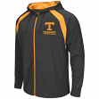 Tennessee Volunteers NCAA Lift Full Zip Hooded Sweatshirt - Charcoal