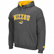 "Missouri Tigers NCAA ""Zone"" Pullover Hooded Sweatshirt - Charcoal"