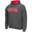"Texas Tech Red Raiders NCAA ""Zone"" Pullover Hooded Sweatshirt - Charcoal"