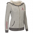 Alabama Crimson Tide Women's NCAA Sundance Full Zip Hooded Sweatshirt - Grey