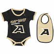 "Army Black Knights NCAA Infant ""Junior"" Onesie w/Bib"
