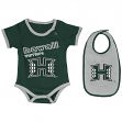 "Hawaii Rainbow Warriors NCAA Infant ""Junior"" Onesie w/Bib"