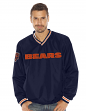 """Chicago Bears NFL G-III """"Stop & Go"""" Wordmark Pullover Embroidered Jacket"""