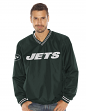 """New York Jets NFL G-III """"Stop & Go"""" Wordmark Pullover Embroidered Jacket"""