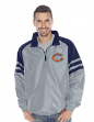 "Chicago Bears NFL G-III ""Roster"" 1/4 Zip Pullover Jacket - Grey"