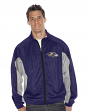 "Baltimore Ravens NFL G-III ""Pylon"" Full Zip Embroidered Track Jacket"