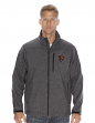 "Chicago Bears NFL ""Spike"" Full Zip Premium Soft Shell Jacket - Charcoal"