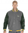 "Green Bay Packers NFL ""Tundra"" Commemorative Premium Wool Varsity Jacket"