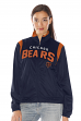 "Chicago Bears Women's NFL ""Primetime"" Full Zip Team Color Track Jacket"