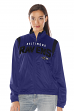 "Baltimore Ravens Women's NFL ""Primetime"" Full Zip Team Color Track Jacket"