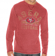 "San Francisco 49ers G-III NFL ""Free Safety"" Long Sleeve Thermal Shirt"