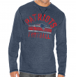 """New England Patriots G-III NFL """"Free Safety"""" Long Sleeve Thermal Shirt"""