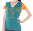 "Miami Dolphins Women's G-III NFL ""Fair Catch"" V-neck T-shirt"