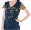 "St. Louis Rams Women's G-III NFL ""Fair Catch"" V-neck T-shirt"