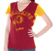"Washington Redskins Women's G-III NFL ""Fair Catch"" V-neck T-shirt"