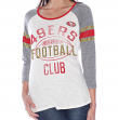 "San Francisco 49ers Women's G-III NFL ""Wishbone"" Long Sleeve Shirt"