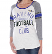 "Baltimore Ravens Women's G-III NFL ""Wishbone"" Long Sleeve Shirt"