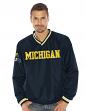 "Michigan Wolverines NCAA G-III ""Stop & Go"" Pullover Embroidered Jacket"