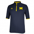 Michigan Wolverines Adidas 2014 Sideline Climalite 1/4 Zip Pullover Shirt