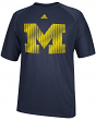 Michigan Wolverines Adidas 2014 Razor Logo Climalite Performance Shirt