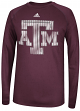 Texas A&M Aggies Adidas 2014 Razor Logo Climalite Long Sleeve Shirt