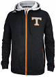 Tennessee Volunteers Adidas NCAA 2014 Campus Full Zip Hooded Sweatshirt - Black